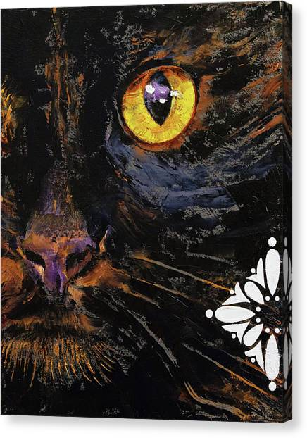 Karma Canvas Print - Bombay Cat by Michael Creese