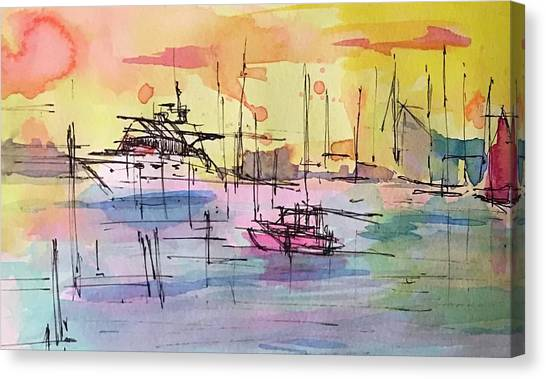 Boothbay 2  Canvas Print