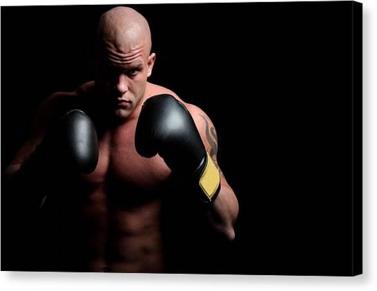 Boxer Canvas Print by Vuk8691