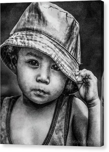 Canvas Print featuring the photograph Boy-oh-boy by Michael Arend
