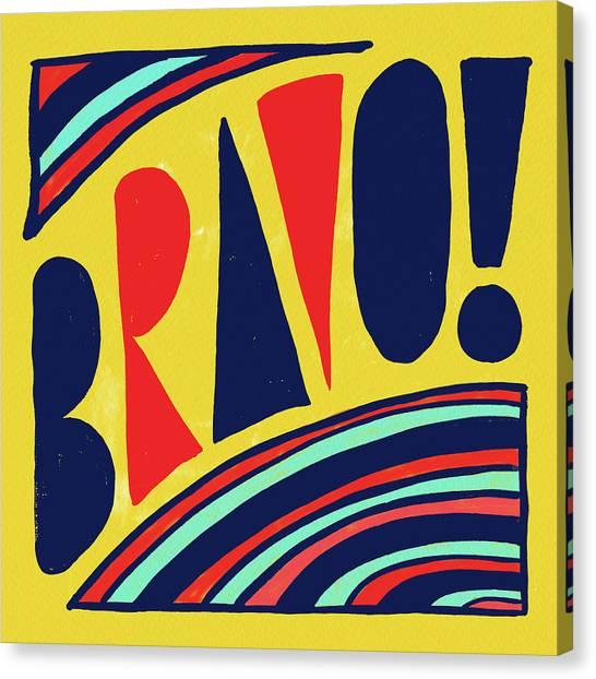 Bravo Canvas Print