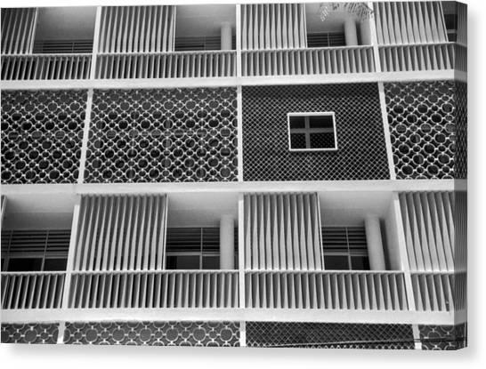 Brazilian Apartments Canvas Print by Kurt Hutton
