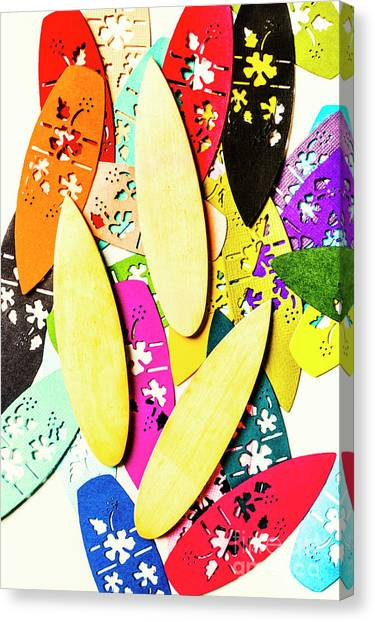 Surfboard Canvas Print - Brb Making Waves by Jorgo Photography - Wall Art Gallery