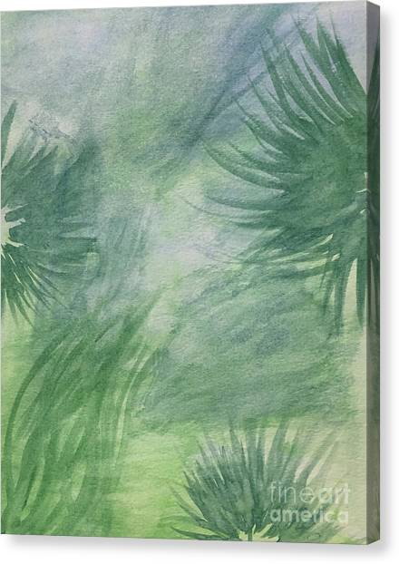 Beach Collection Breeze 1 Canvas Print