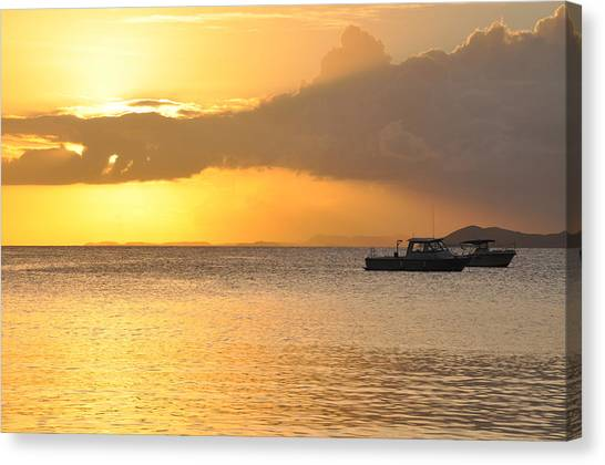 Brewers Bay Sundown Canvas Print