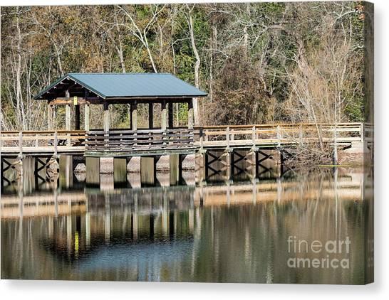 Brick Pond Park - North Augusta Sc Canvas Print