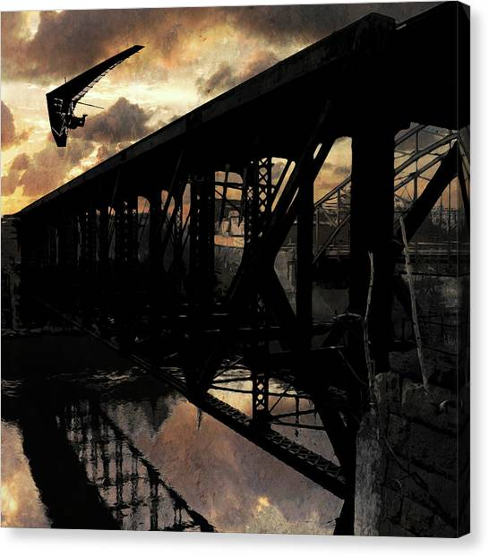 Bridge I Canvas Print