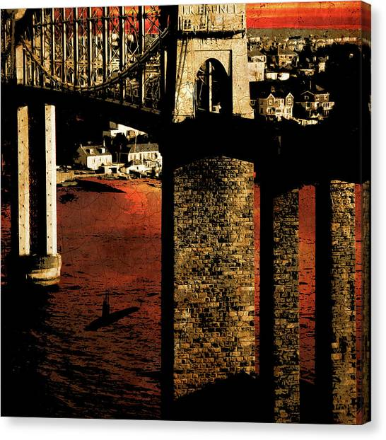 Bridge II Canvas Print