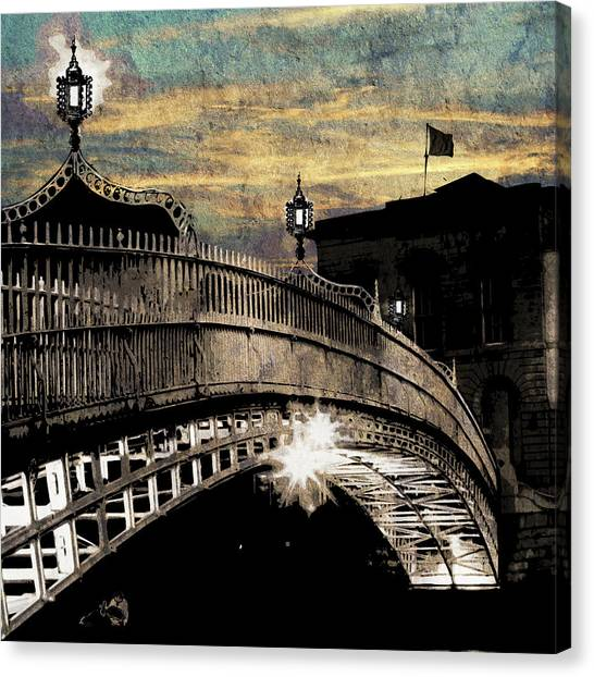 Bridge IIi Canvas Print