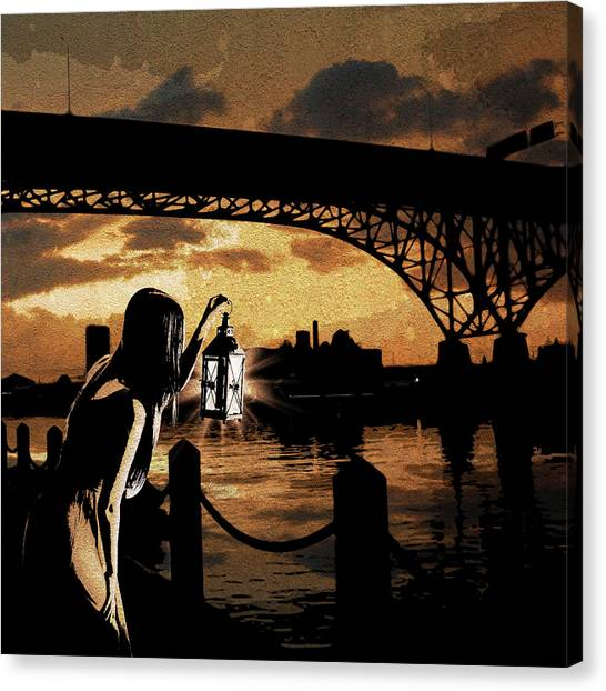 Bridge Iv Canvas Print