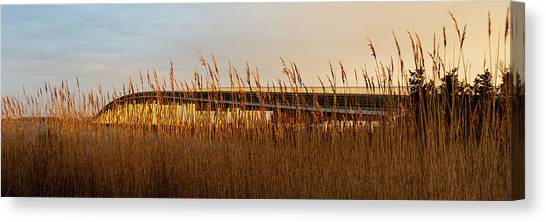 Canvas Print featuring the photograph Bridge To Assateague Island National Seashore by William Dickman