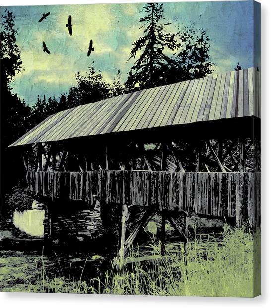 Bridge V Canvas Print