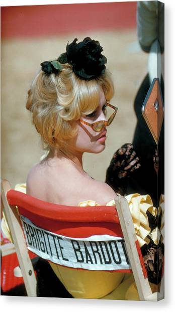 Brigitte Bardot Canvas Print by Loomis Dean