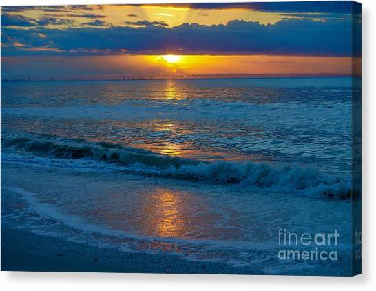 Brilliant Sunrise Canvas Print