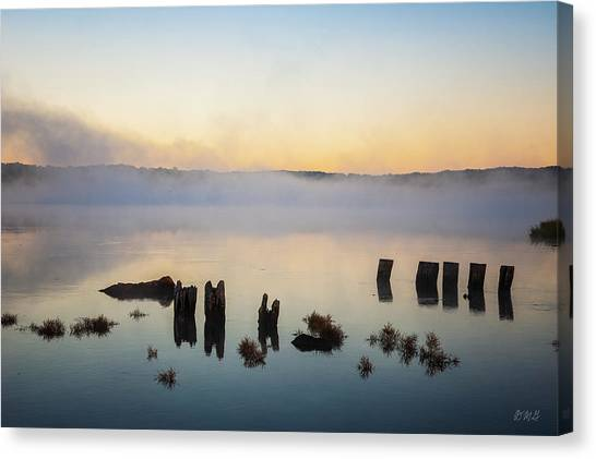 Canvas Print featuring the photograph Broad Cove Iv Color by David Gordon
