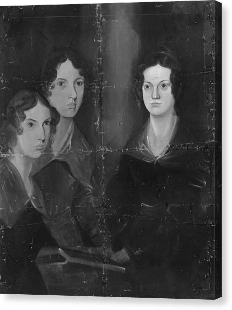 Bronte Sisters Canvas Print by Rischgitz