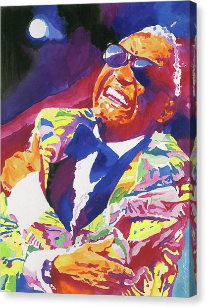 Brother Ray Charles Canvas Print