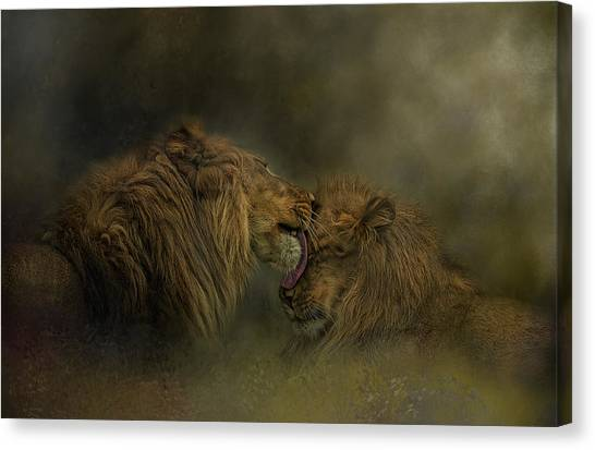 Brotherly Love Canvas Print