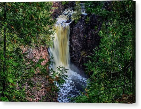 Brownstone Falls Canvas Print