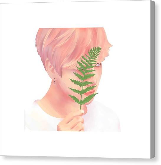 Suga Canvas Print - BTS by Slaway Tok