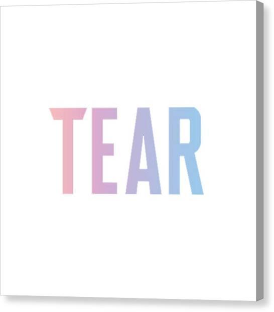 Suga Canvas Print - Bts Tear by Rakai Pikatan