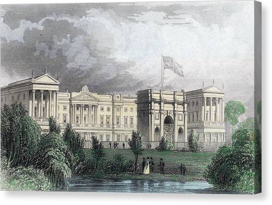 Buckingham Palace Canvas Print by Hulton Archive