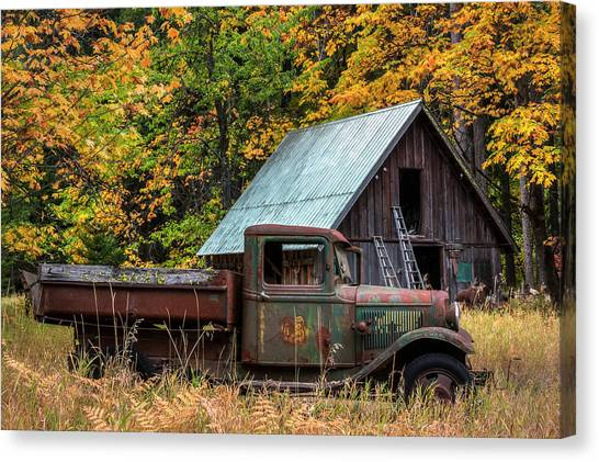 Orchard Canvas Print - Buckner Orchard by Mark Kiver