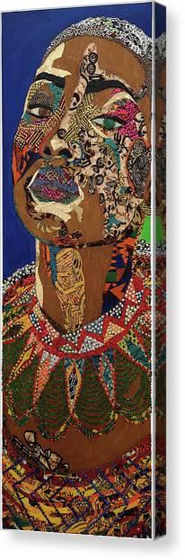 Ibukun Ami Blessed Mark Canvas Print