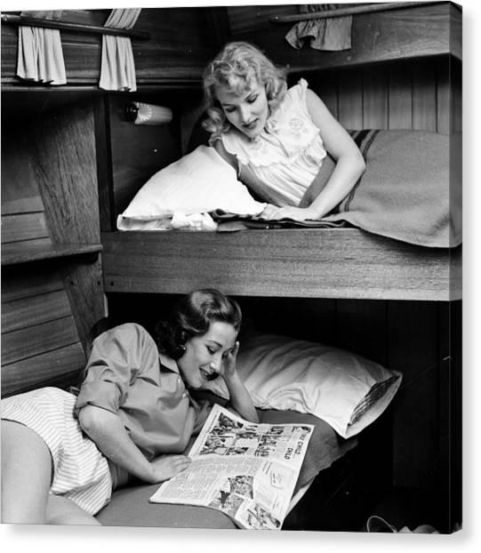 Bunk Beds Canvas Print by John Drysdale