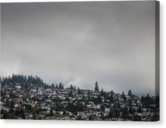 Burnaby Hill Canvas Print