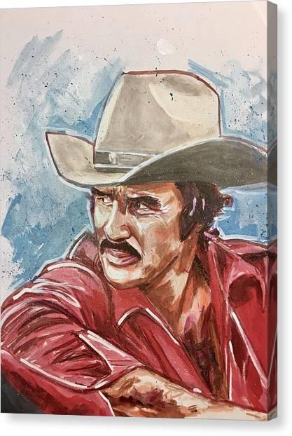 Burt Reynolds Canvas Print