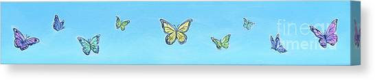 Butterfly Sky Canvas Print