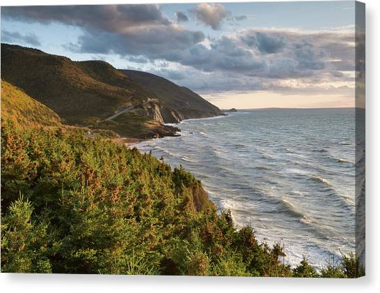 Cabot Trail Scenic Canvas Print by Shayes17