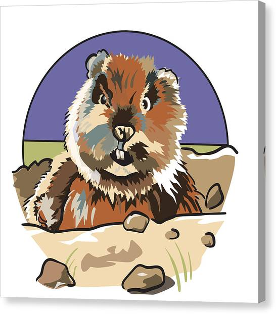 Caddyshack Gopher Canvas Print