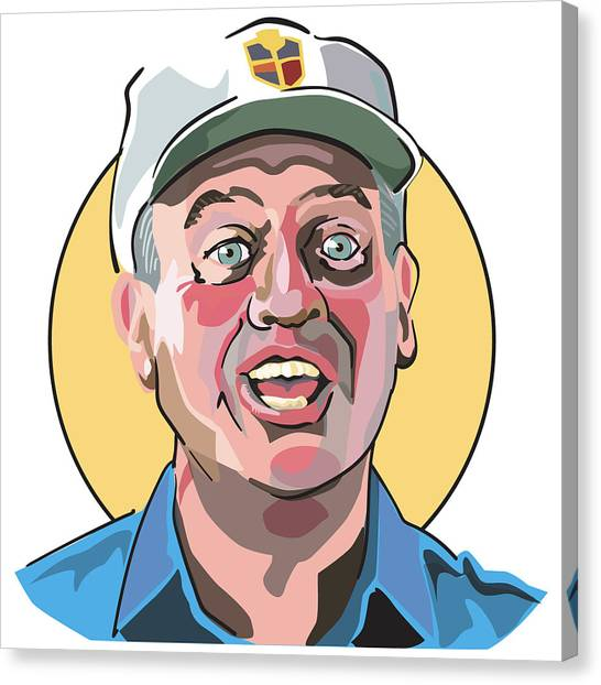 Caddyshack Rodney Dangerfield Canvas Print