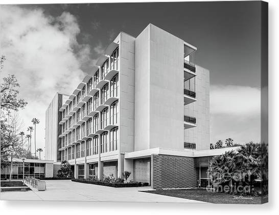 Big West Canvas Print - Cal State Northridge Bayramian Hall by University Icons