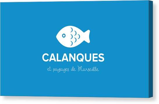 Calanques Canvas Print