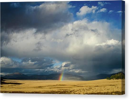 Caldera Rainbow Canvas Print
