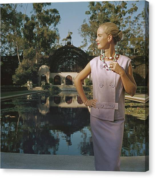California Fashion Canvas Print by Slim Aarons