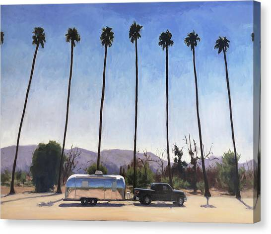 California Honeymoon Canvas Print