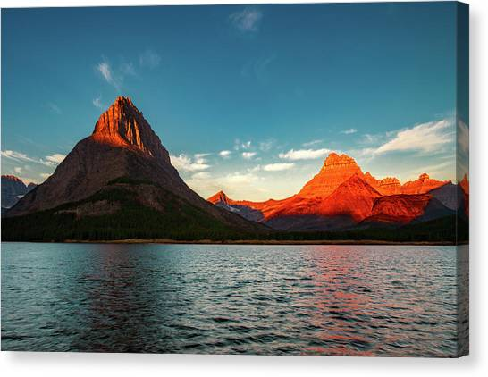 Mountain Sunrises Canvas Print - Call Of The Wild No. 2 by Todd Klassy