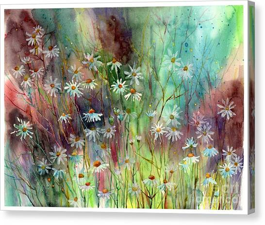 Appalachian Canvas Print - Camomille by Suzann Sines