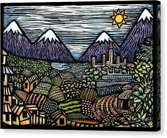 Campo Canvas Print by Ricardo Levins Morales