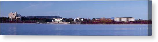 Canberra Canvas Print - Canberra Skyline by Andrew Watson