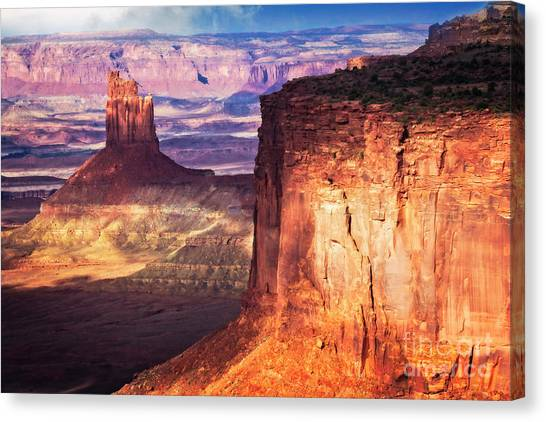 Canvas Print featuring the photograph Candlestick Tower by Scott Kemper