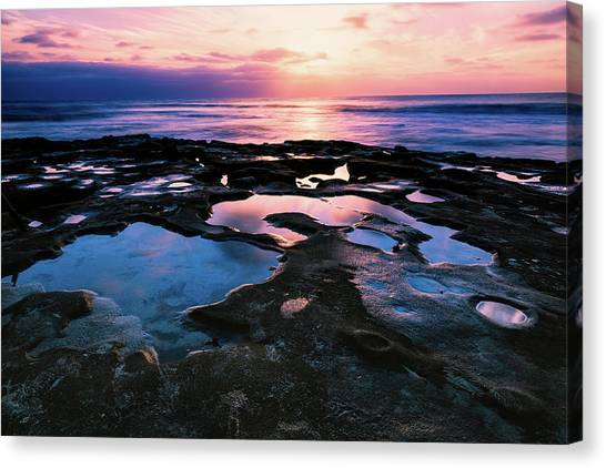 Candy Colored Pools Canvas Print