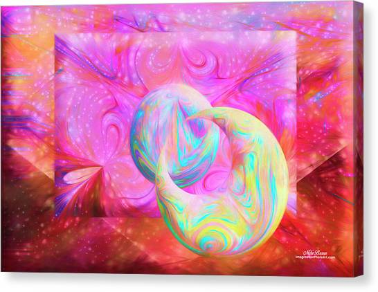 Candy Universe Canvas Print