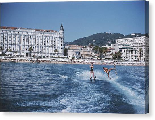 Cannes Watersports Canvas Print
