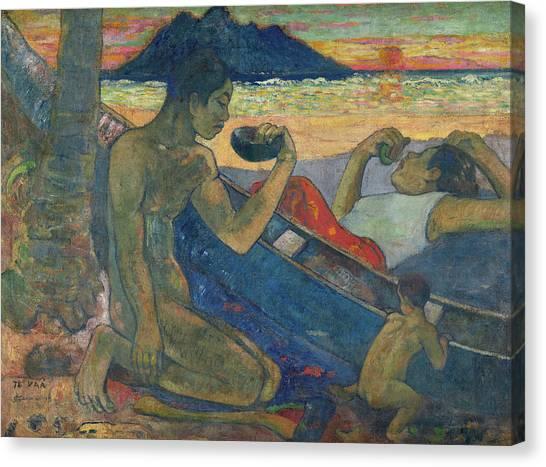Road in Tahiti - Gauguin - oil painting reproduction