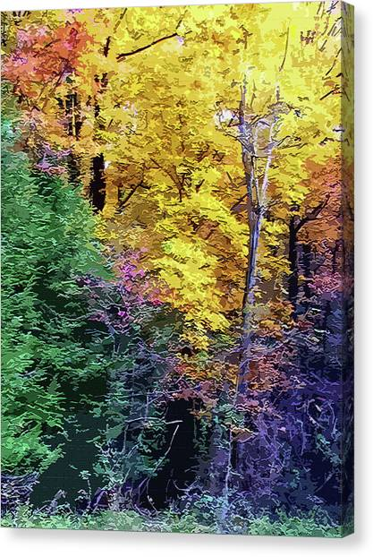 Canvas Print - Cantwell Cliffs Ohio by Mindy Newman